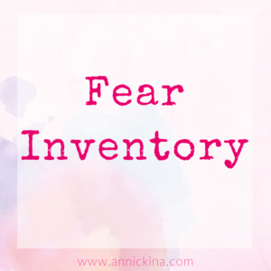 fear inventory
