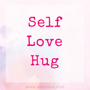self love hug